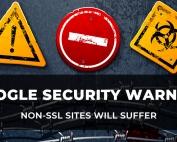 Avoid the Google SSL Warning