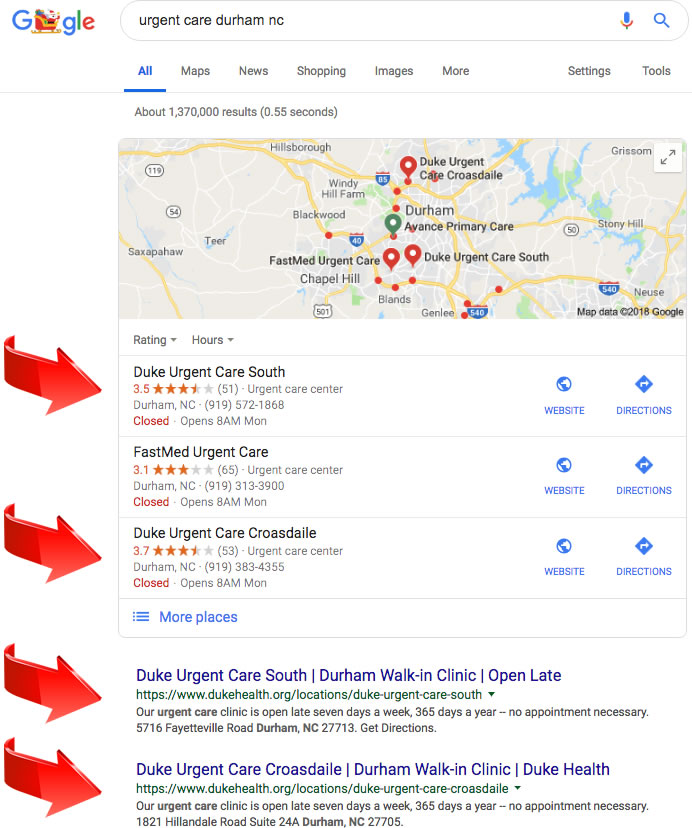 search engine marketing in Durham NC